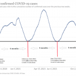 Is Covid-19 on a four monthly global wave cycle?
